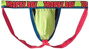 Andrew Christian Men's Trophy Boy Peek-A-Boo Jock Strap with Show-It