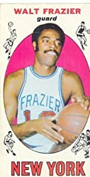 Walt Frazier Topps 1969-70 Basketball Card
