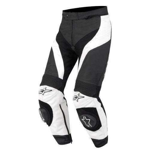 Alpinestars GP Plus Lederhose, Farbe schwarz-weiss, Größe 60