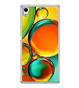 Colourful Bubbles 2D Hard Polycarbonate Designer Back Case Cover for Sony Xperia Z4