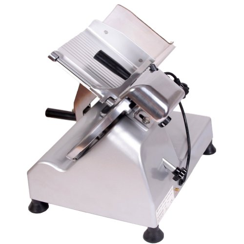 """Sanven Food And Meat Slicer 10"""" Blade On-Off Switch With Waterproof Cover For Easy Use High Efficiency And Durable"""