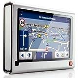 "Falk F6 3rd Edition Navigationssystem inkl. TMC (10,9 cm (4,3 Zoll) Display, Kartenmaterial Europa 43, Fahrspurassistent, StadtAktiv) Silbervon ""Falk"""
