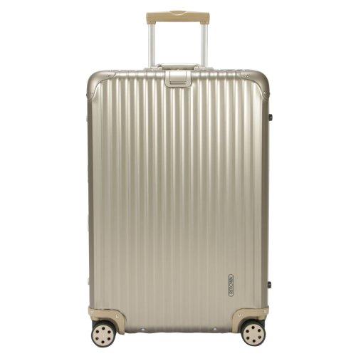 (リモワ)RIMOWAトパーズチタニウム945.7794577TopasTitaniumマルチホイールチタンゴールド(シャンパンゴールド)スーツケース4輪98L並行輸入品