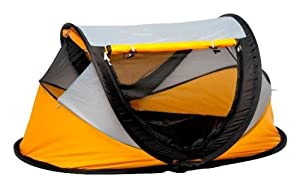 NS Associates Deluxe Travel Centre/Travel Cot Yellow       Babyreview and more information