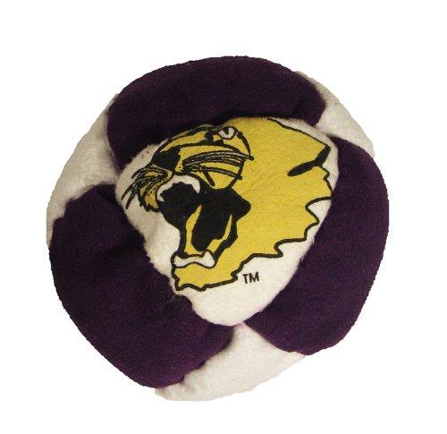 Hacky Sack - College Logo 8 Panelled Kansas State Design - 1