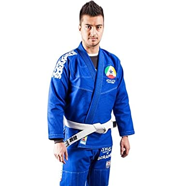 Scramble Athlete BJJ Gi Blue