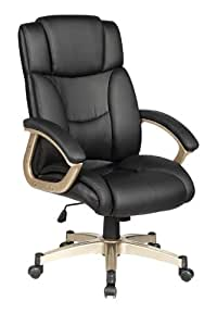 High Back Executive Leather Ergonomic Office Chair W Heavy Duty M