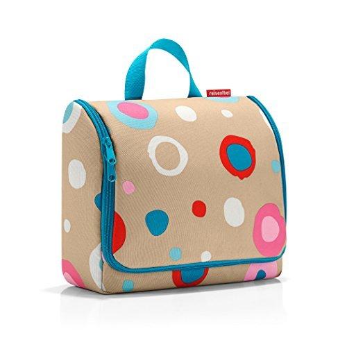 Reisenthel Toiletbag XL, Wash Bag, Cosmetic Bag, Make-Up Bag, Funky Dots 1, WO6034 by Reisenthel