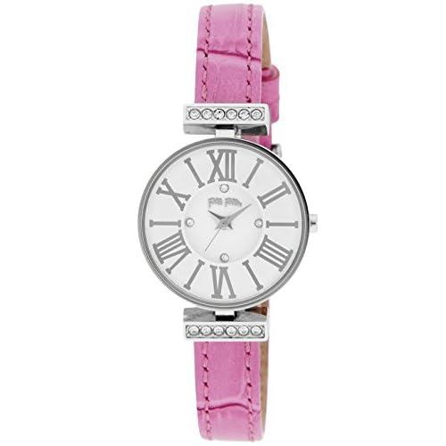 [フォリフォリ]FOLLI FOLLIE 腕時計 ミニ ダイナスティ シルバー文字盤 WF13A014SSW-PI レディース 【並行輸入品】