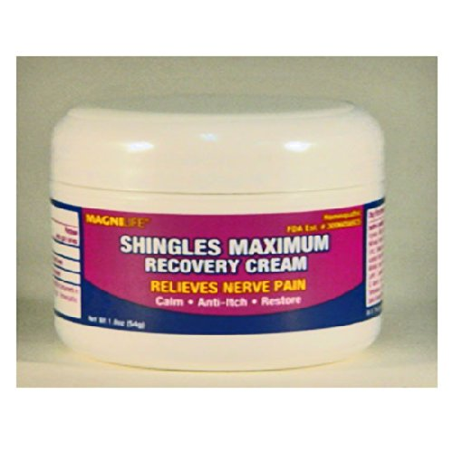 Magnilife Shingles Maximum Recovery Cream 1.8 Oz/56G Jar