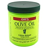 Ors Olive Oil Creme Relaxer Extra Strength 18.75oz Jar (6 Pack) (Tamaño: 18.75 Ounce (6 Pack))