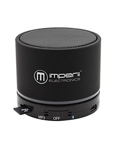 imperii Altoparlante Bluetooth Slot Micro SD Nero
