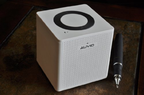 Auvio Portable Bluetooth Speaker-White