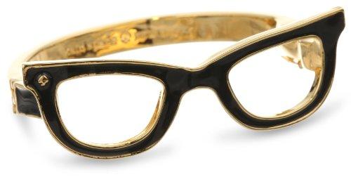 """Kate Spade New York """"Goreski Glasses"""" Bangle Bracelet, 7.0″"""