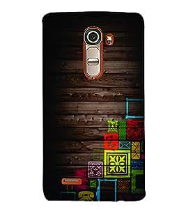 PrintVisa Corporate Print & Pattern Wooden Art 3D Hard Polycarbonate Designer Back Case Cover for LG G4 Mini