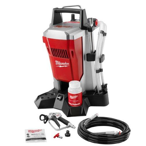 Reviews Milwaukee Airless Paint Sprayer M4910 10 Brand New 2 Years