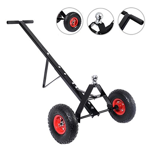 600lb HEAVY DUTY Utility Trailer Dolly Mover Hitch Boat Jet Ski Camper
