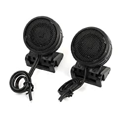 Auto Car Audio System Loud Speaker Dome Tweeters 300W 100dB 2.8V 2 Pcs
