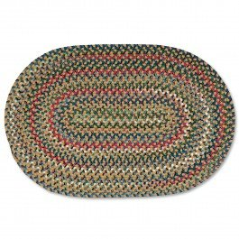 3X5 Old Orchard Braided Rug Camel 3' x 5'
