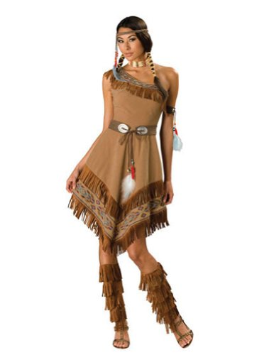 Indian Maiden Lg Adult Womens Costume