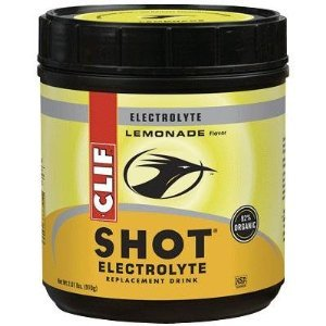 Clif Bar Clif Shot Electrolyte Drink - 45 Servings Canister (Lemonade)