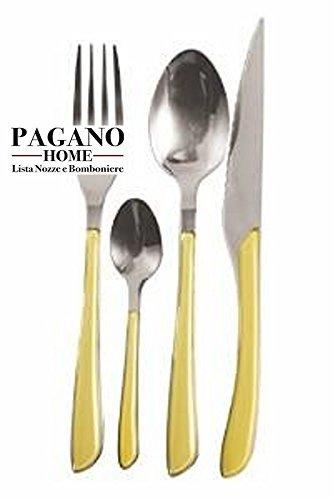 offerta-promozionale-servizio-posate-modello-genny-gialla-24-pezzi-per-6-posti-tavola-persone-in-acc