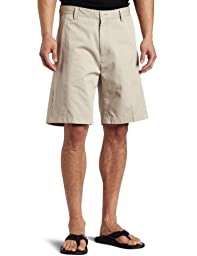 Nautica Men\'s Anc True Flat Front Short, True Stone, 34