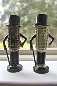 Mr. Peanut Salt & Pepper Shakers - Planters Peanuts