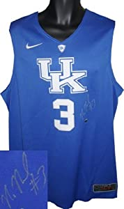 Nerlens Noel signed Kentucky Wildcats Blue Nike Hyper Elite Authentic Jersey XL by Athlon+Sports+Collectibles