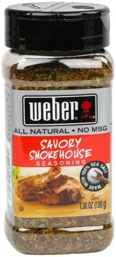 Weber Savory Smokehouse Seasoning (7 Oz.)