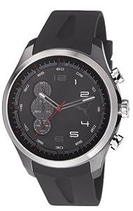 Puma Herren-Armbanduhr XL Velocity Analog Quarz Resin PU103131002