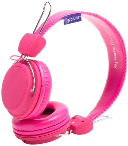 Sms Audio Ks-2013-Gdiy-Roh Kidzsafe Girls Diy Headphones - Pink