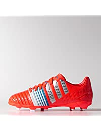 Adidas Nitrocharge 3.0 Junior Firm Ground Cleats [SOLRED/SILVMT/FTWWHT]