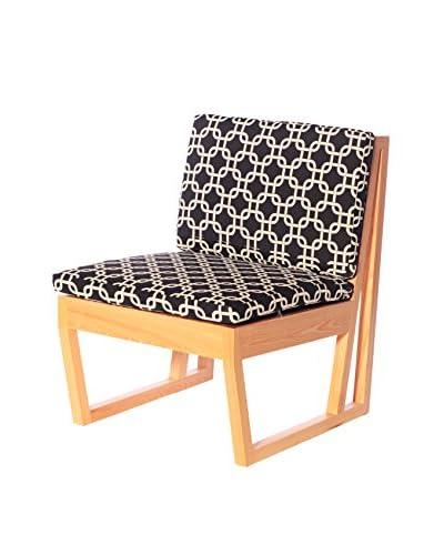 nine6 Accent Chair, Cypress/Gotcha Ebony