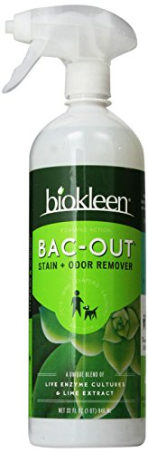 Biokleen Bac-Out Stain+Odor Remover Foam Spray, 32
