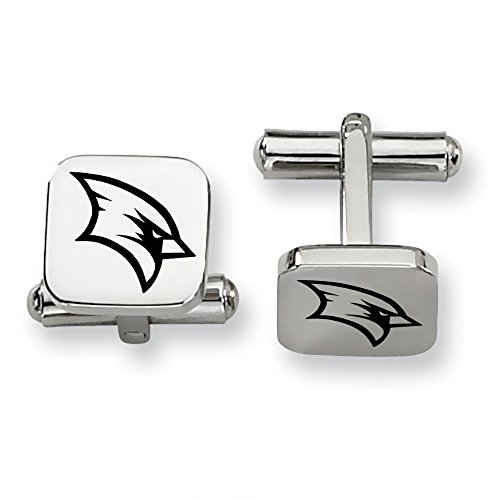 Saginaw Valley State Cardinals Stainless Steel Square Cufflinks