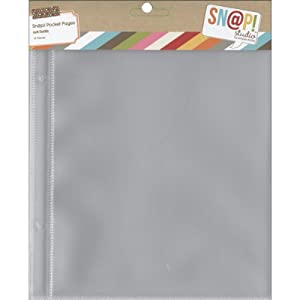 Simple Stories Mix and Match 6 by 8-Inch Page Protectors