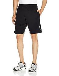 Reebok Men's Synthetic Shorts (4056563957899_AF2301_X-Large_Black)