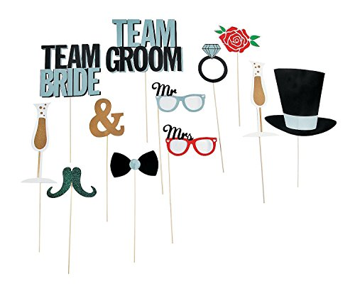 Wedding Party Photo Booth Costume Stick