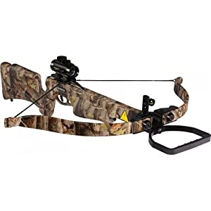 Chace Wind 150# 242 FPS Recurve Crossbow Red Dot Scope Package