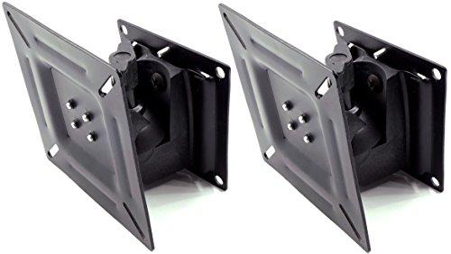 液晶テレビ 用 壁掛金具 13型 ~ 24型 VESA規格対応 (2個, フリー)