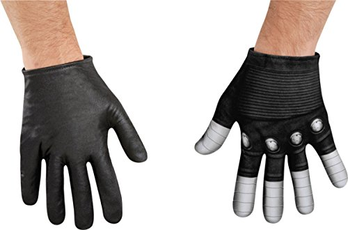[Morris Costumes DG73393 Winter Soldier Gloves Adult] (Horror Movie Costumes Homemade)