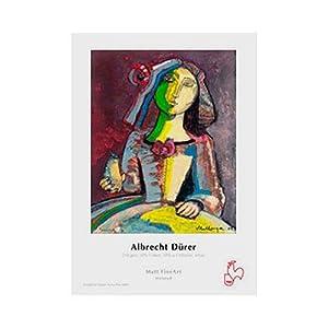 "Hahnemuhle Albrecht Durer, 50% Rag, Textured Matte Surface, Natural White Inkjet Paper, 210 gsm, 8.5x11"", 25 Sheets"
