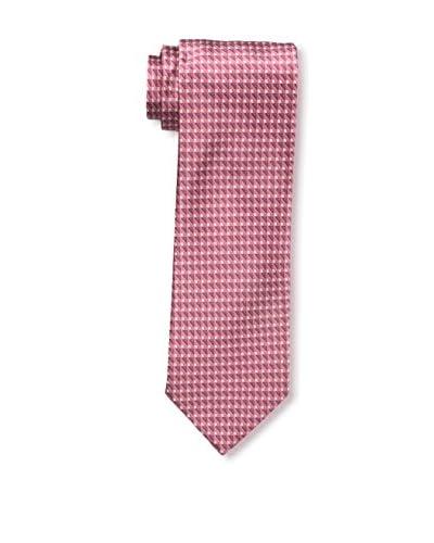 Ermenegildo Zegna Men's Silk Tie, Pink