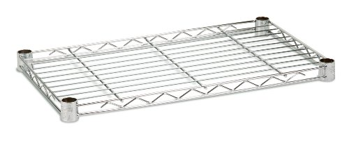 Honey-Can-Do SHF350C1436 Steel Wire Shelf for Urban Shelving Units, 350lbs Capacity, Chrome, 14Lx36W (Honey Can Do Shelving Unit compare prices)