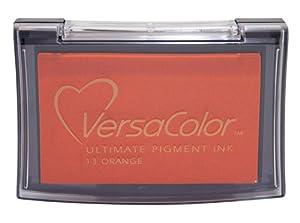 Tsukineko Full-Size VersaColor Ultimate Pigment Inkpad, Orange from Tsukineko