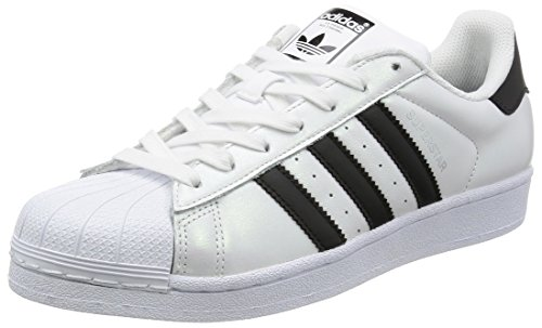 adidas-superstar-scarpe-da-basketball-unisex-adulto-multicolore-ftwwht-cblack-cblack-44