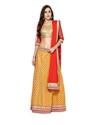 Yepme Women's Multi-Coloured Blended Lehengas - YPMLEHG0101_Free Size