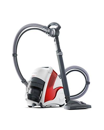 Polti Pulitore a Vapore/Aspiratore Unico Mcv50 Allergy Multifloor Turbo PBEU0080 Bianco/Rosso