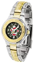 Youngstown State Penguins Competitor AnoChrome Ladies Watch with Two-Tone Band